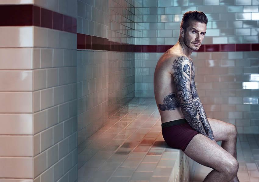 David Beckham Bodywear campaign