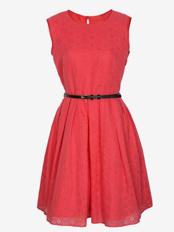 vestido-coral-cinturon