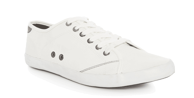 Zapatillas blancas 9 euros