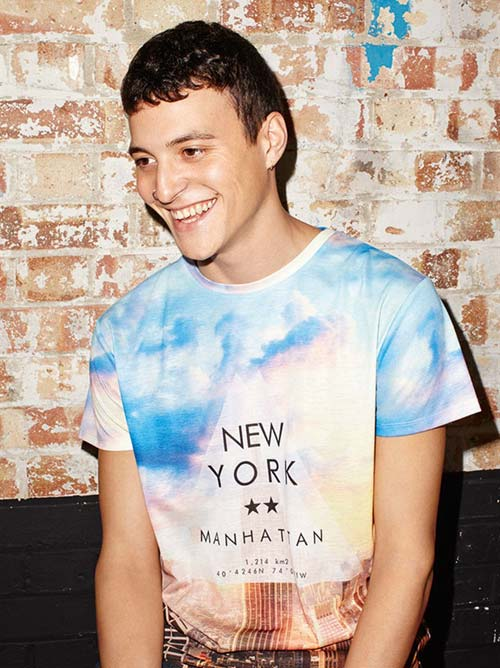 Camiseta horizonte New York: 8 euros
