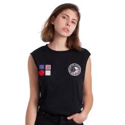 Camiseta parches Costalamel más info aquí