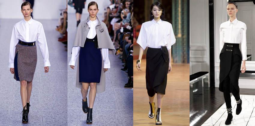 Tendencia: Camisa Oxford blanca, un must para tu armario