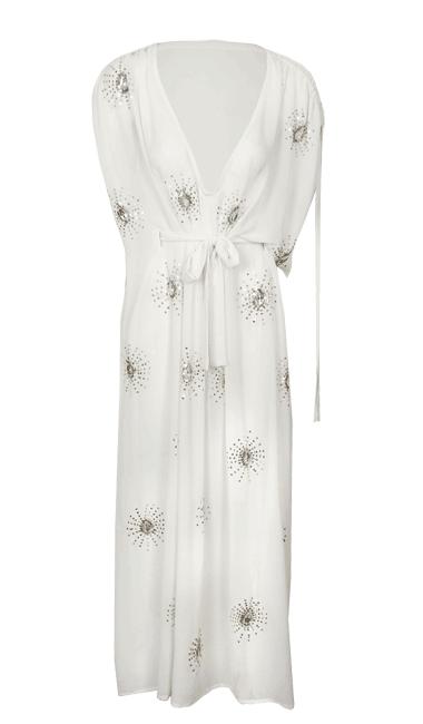 e3f62286b Primark online  maxi vestido blanco. by Moda en Calle