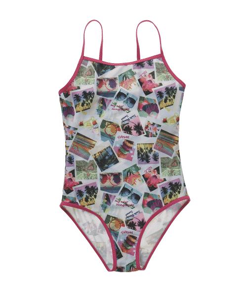 revisa 60f40 a3671 Primark niñas: bañador fotográfico ⋆ Moda en Calle