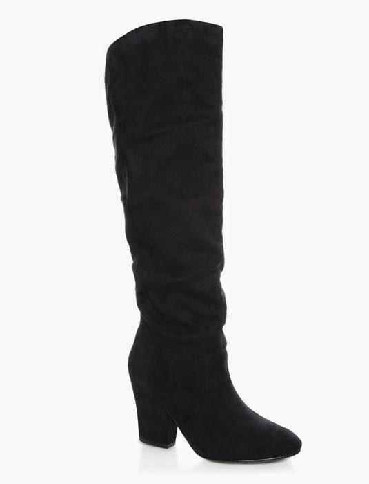 b8ad47602 Botas altas de Primark online catálogo de ropa Otoño-Invierno 2014 15. Botas  altas de tacón grueso y medio en negro para mujer a la venta en tiendas  Primark ...