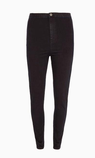 Primark Pantalones Negros Basicos De Pitillo Para Mujer Moda En Calle