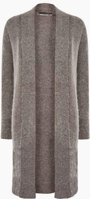 envío gratis grandes ofertas en moda Super descuento Cárdigan largo en gris para mujer ⋆ Moda en Calle
