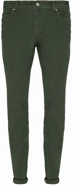 Pantalones De Pitillo En Verde Para Mujer Moda En Calle