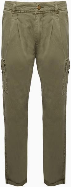 Pantalones En Verde Militar Para Mujer Moda En Calle
