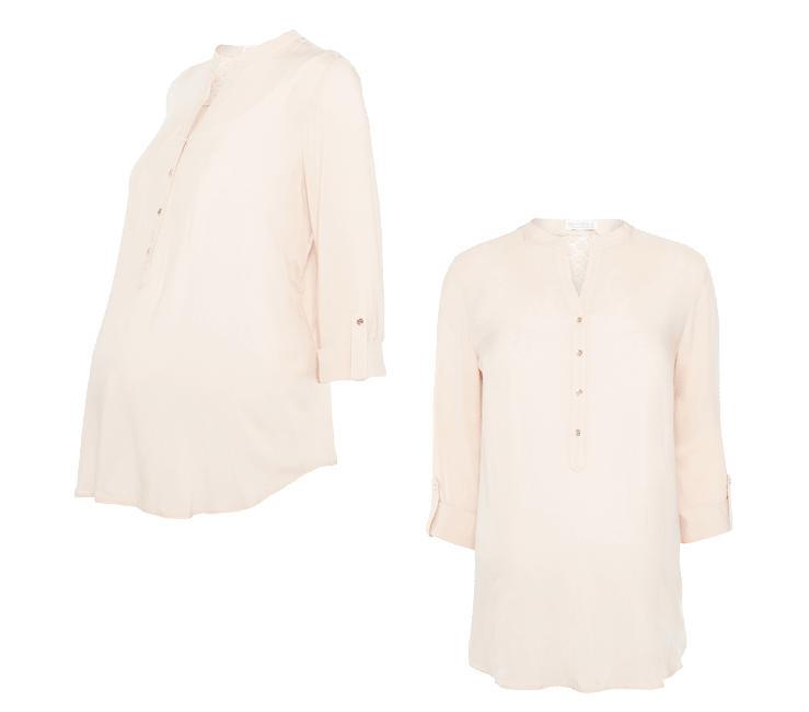 comprar online Venta barata grandes ofertas Blusa en rosa de premamá ⋆ Moda en Calle