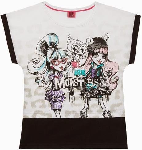 87752f270 Camiseta monster para niña de Primark ⋆ Moda en Calle