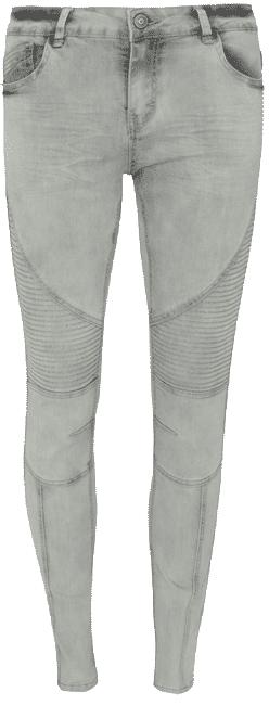 Primark Jeans Pitillo En Color Claro Moda En Calle