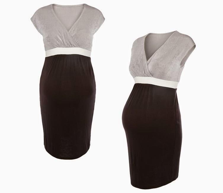 b0bce25ee Vestido premamá del catálogo de Primark online colección de Premamá  Otoño-Invierno 2014 15. Vestido de premamá de manga corta en gris