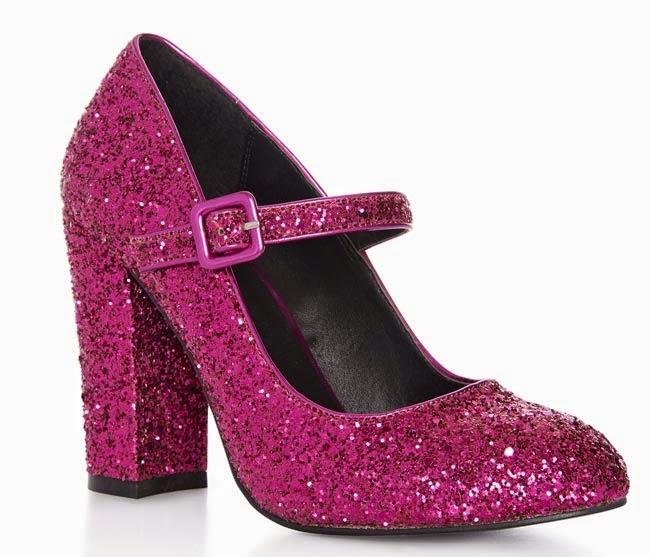 aa9dd1dc651b7 Zapatos de tacón con purpurina de Primark para mujer ⋆ Moda en Calle